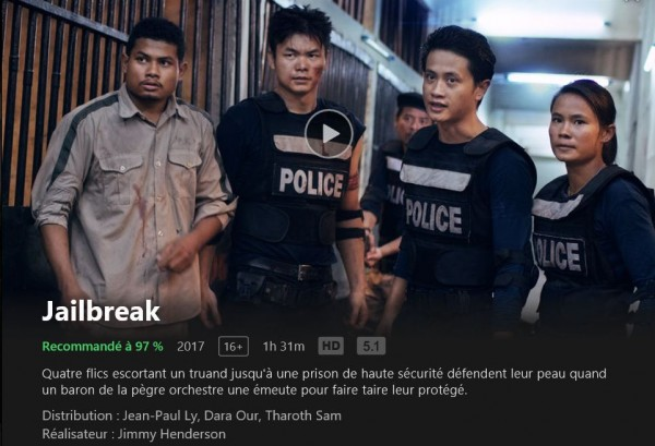 Jailbreak is on NETFLIX! | Céline Tran - Actress